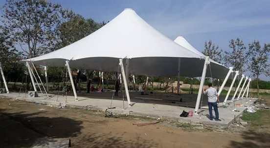 Gazebo Kubbeli Çadır | Akbayrak Tente